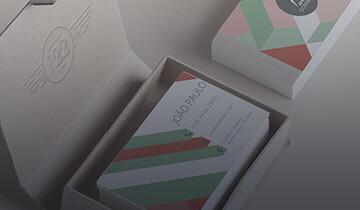 Tutorial de cartões de visita da grafica online Printi