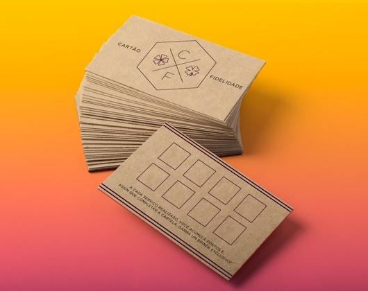Impressão de Cartão Fidelidade Personalizado