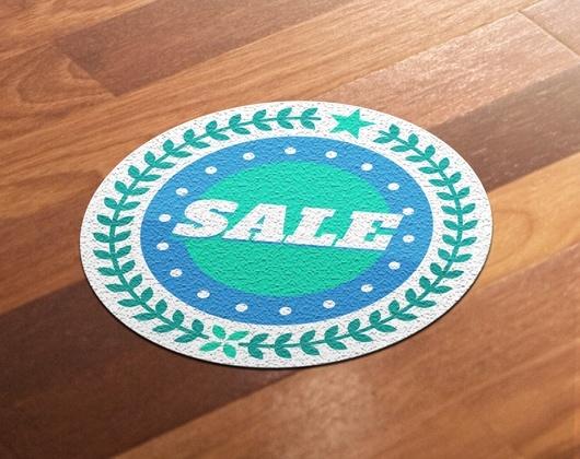 Imprimir adesivos de piso