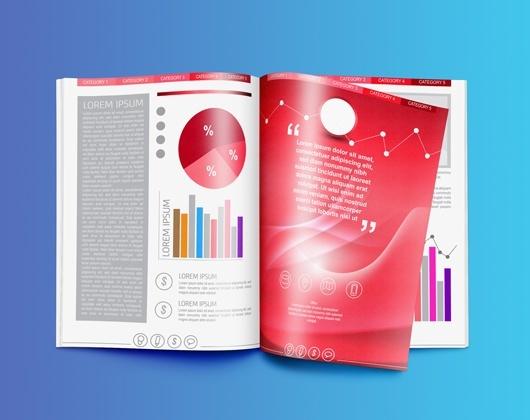 Impressão de Brochuras