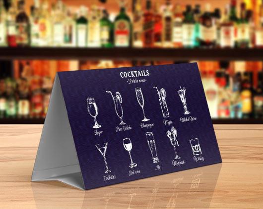 Impressão de displays de mesa