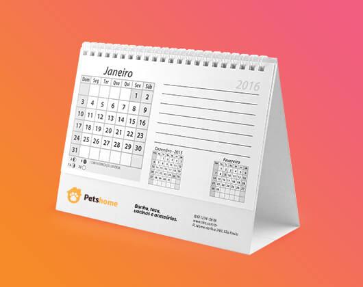 Calendários de mesa Personalizados