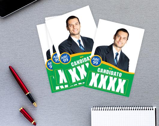 Imprima Santinhos personalizados Online