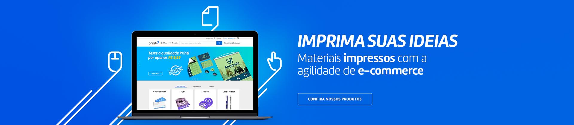 Imprima suas ideias na melhor gráfica do Brasil