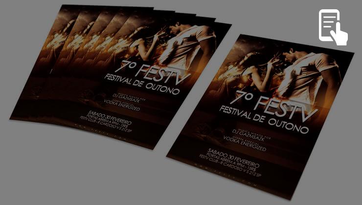 flyer imprimir flyers online printi
