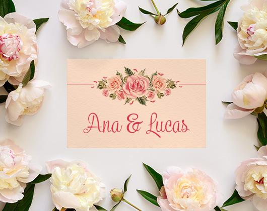 Imprimir Convites de Casamento Online