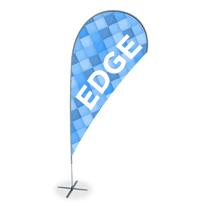 Gráfica para impressão de wind banner