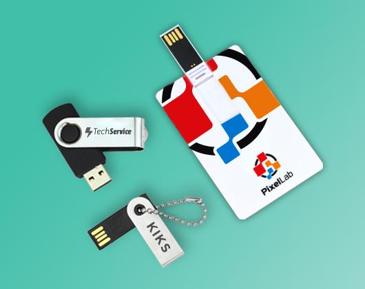 Pen Drive e Pen Card Personalizado