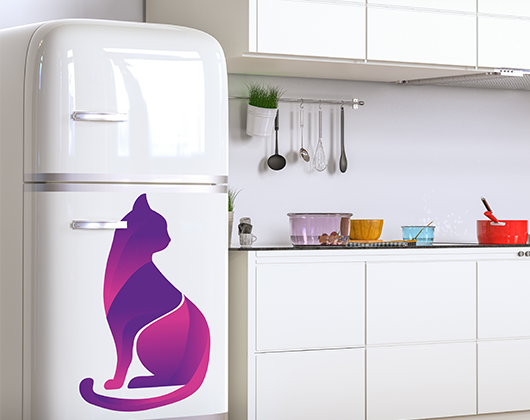 Personalize adesivos de geladeira