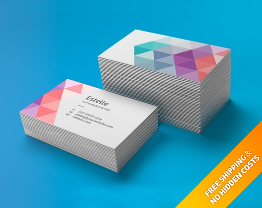 Custom business cards printing online printi make your business card in less than five minutes colourmoves