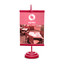 Comprar banner de mesa personalizado