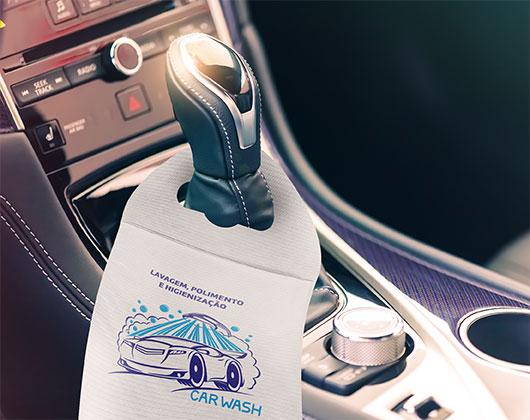 saco de lixo para carros personalizar porta lixo para carro printi