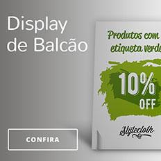 Display de Balcão para ponto de venda na Printi