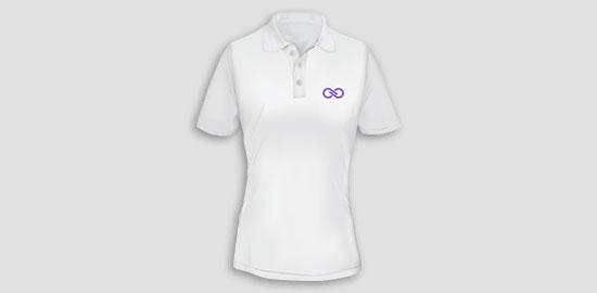 Camiseta Polo Personalizada Feminina e82c5c7c37174