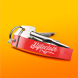 Customize & Print Promotional Bottle Opener Keychains in Bulk | Printi