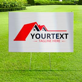 Custom Yard Signs & Lawn Signs | Yard Sign Printing Online