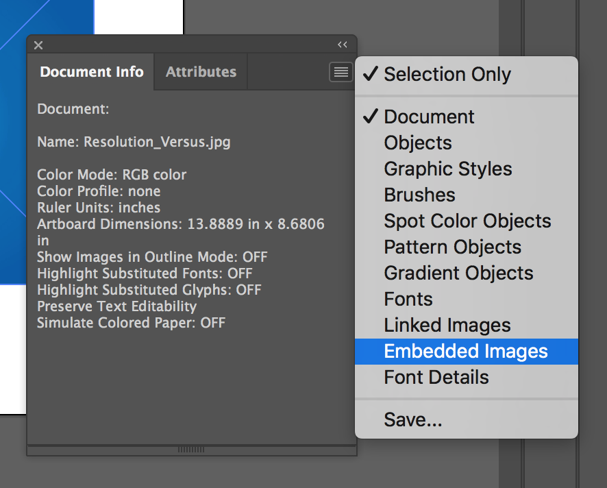 Using images in your documents in Illustrator | Printi