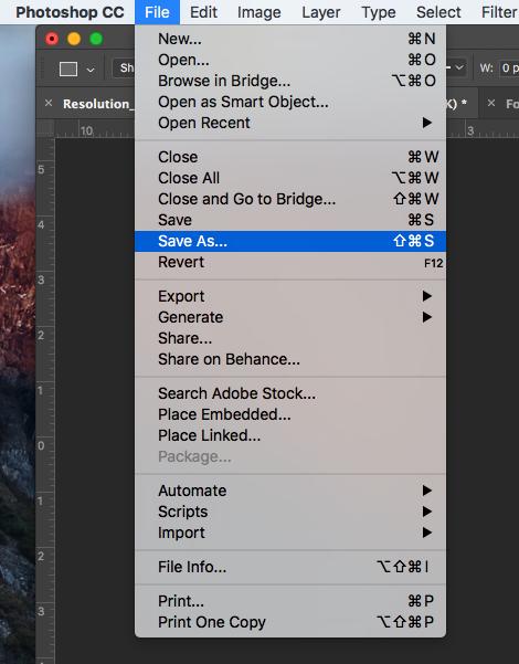 How to generate a PDF / X-1A file in Photoshop | Printi